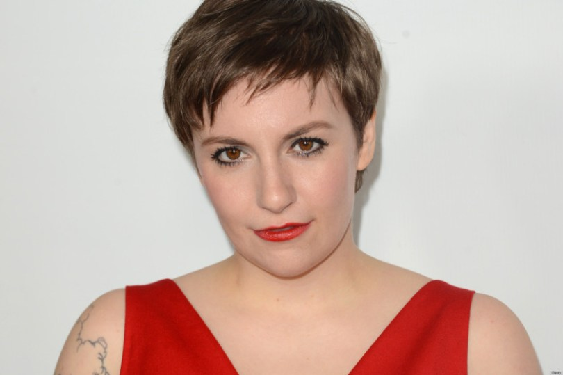"""HOLLYWOOD, CA - DECEMBER 12: Actress Lena Dunham attends the premiere Of Universal Pictures' """"This Is 40"""" at Grauman's Chinese Theatre on December 12, 2012 in Hollywood, California. (Photo by Jason Merritt/Getty Images)"""