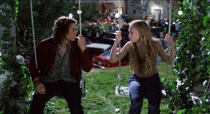 10 coisas que eu odeio em voce - Heath Ledger e Julia Stiles