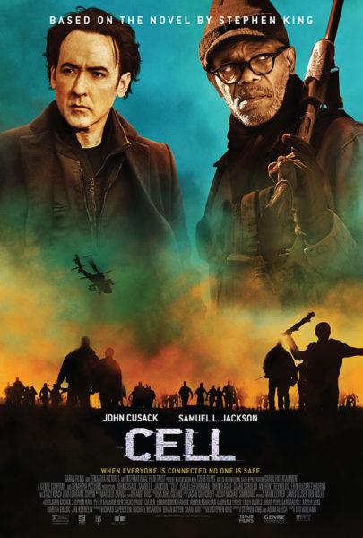 Poster-Cell-Celular-Stephen-King-405x600 Adaptação de livro de zumbi de Stephen King ganha seu primeiro trailer