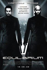 Equilibrium poster - filmes sci-fi dos anos 2000