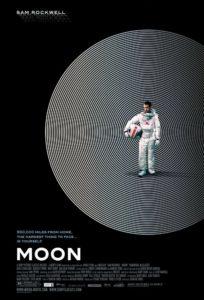 Lunar Poster - Melhores Filmes sci-fi dos anos 2000