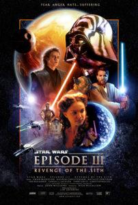 Poster Filmes sci-fi dos anos 2000 - Star Wars Episode III