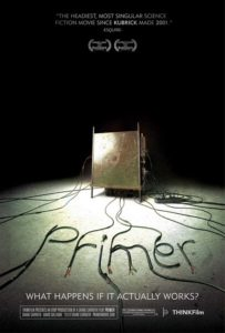 Poster Melhores Filmes Sci-Fi dos anos 2000 - Primer