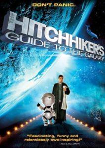 Poster O Guia do Mochileiro das Galaxias - Melhores filmes de ficcao cientifica dos anos 2000
