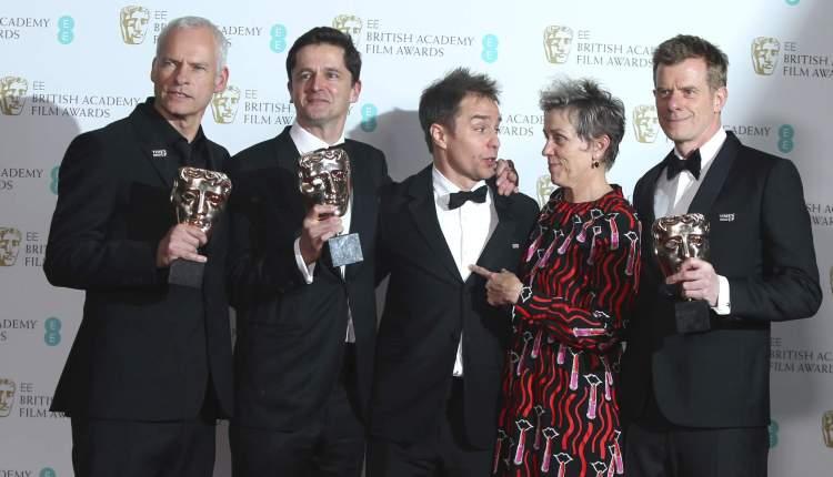BAFTA confirma favoritos ao Oscar 2018