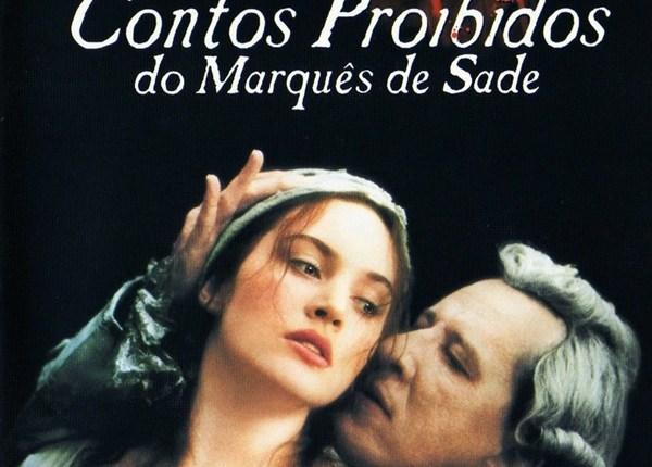 contos proibidos do marques de sade poster