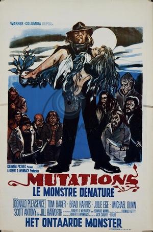 The Mutations (poster belge)