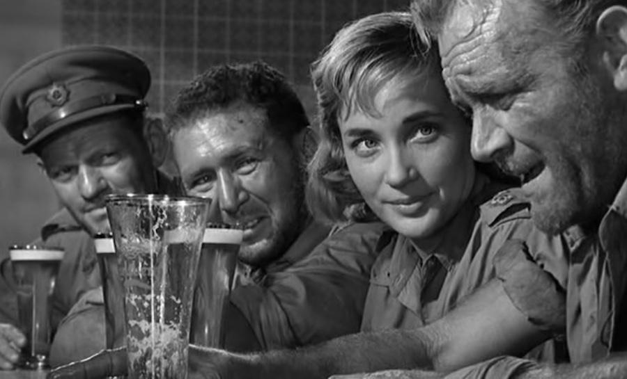 Ice Cold in Alex / Le désert de la peur (1958)