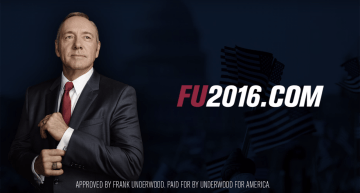 Frank Underwood ganó un grand prix en Cannes 2016