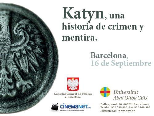 Katyn, una historia de crimen y mentira - Eventos Cinemanet