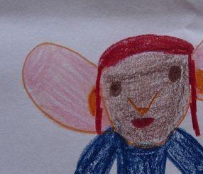 """Uno de los dibujos participantes en el concurso de """"Dibuja tu cine"""""""