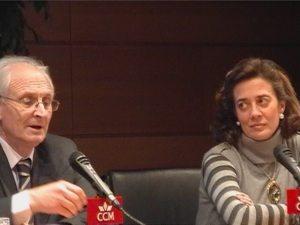 Daniel Arasa y Maria Dolores Valdés, directivos de CinemaNet