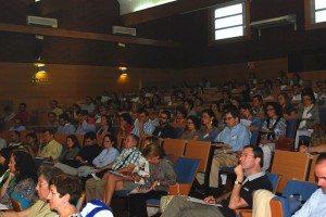 Público del Congreso en el Aula Magna