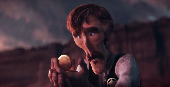 Corto Tiempo prestado Borrowed Time Pixar CinemaNet