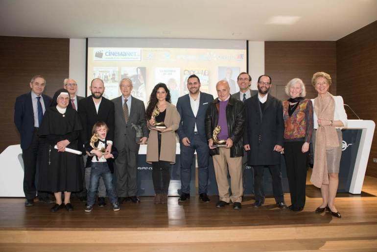 Premios CinemaNet gala fotos