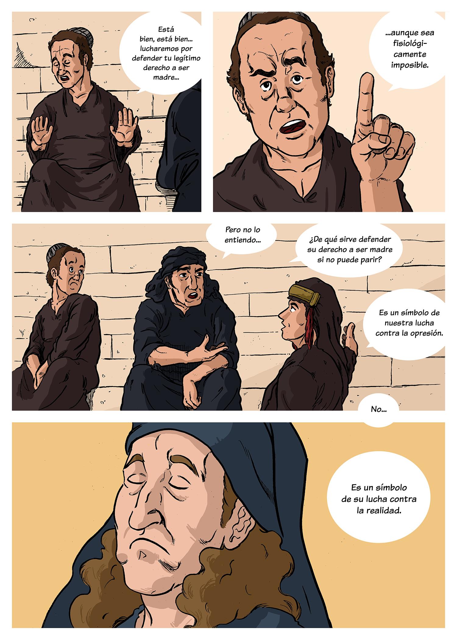 La vida de Brian Cinefórum en viñetas Guillermo Altarriba 2