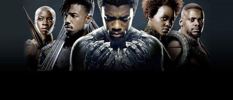 Película Black Panther Protagonistas