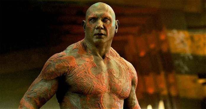 The fight for Dave Baptist was Drax in Guardians of the Galaxy