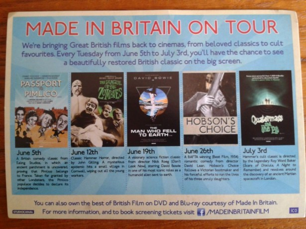 Made in Britain postcard