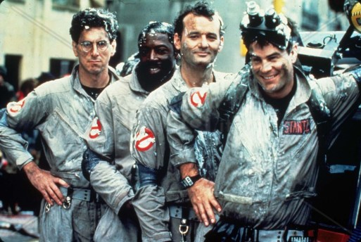 Photo ID - 23778, Year - 1984, Film Title - GHOSTBUSTERS, Director - IVAN REITMAN, Studio - , Keywords - 1984, DAN AYKROYD, BILL MURRAY, HAROLD RAMIS, IVAN REITMAN