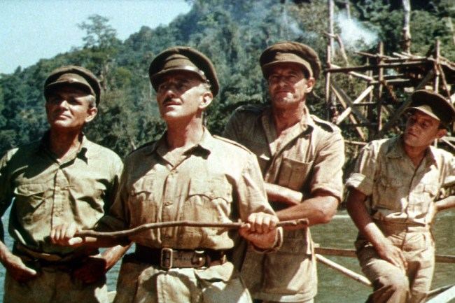The Bridge on the River Kwai (1957) Directed by David Lean Shown second from left: Alec Guinness
