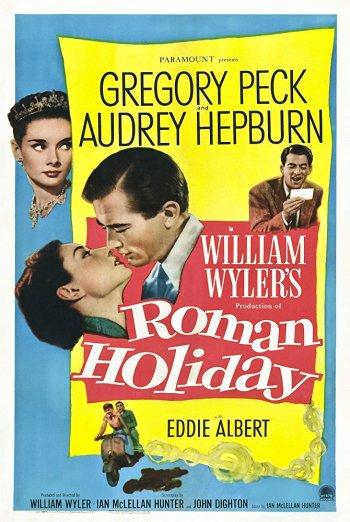 Roman Holiday (1953) Poster