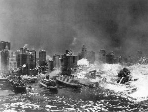Deluge (1933)  Directed by Felix E. Feist Shown: destruction of New York City