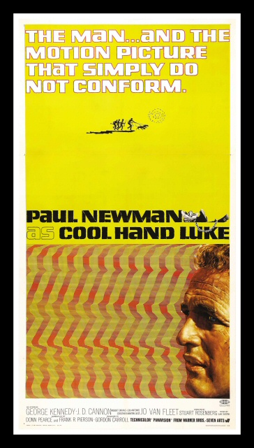 details about cool hand luke cinemasterpieces original huge movie poster paul newman 1967