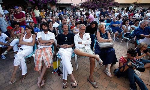 Festival del Cinema Tavolara 2009, gli incontri in Piazzetta Gramsci a Porto San Paolo