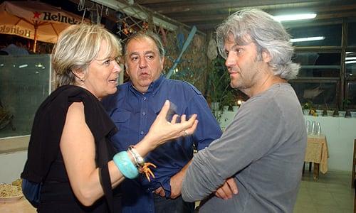 Festival del Cinema Tavolara 2010, Piera Detassis, Antonello Grimaldi e, Domenico Procacci