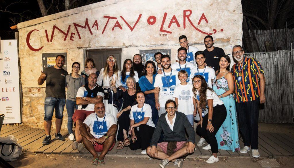 Cinematavolara 2019 serata finale Staff Cinema Tavolara