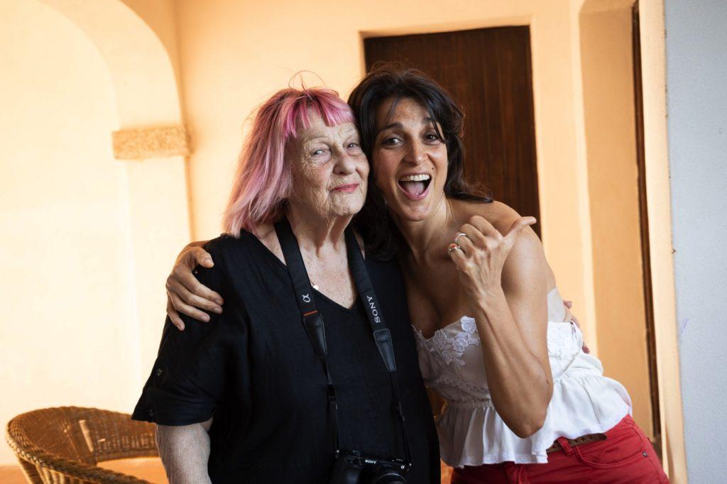 Cinematavolara 2019 terza serata Letizia Battaglia e Donatella Finocchiaro
