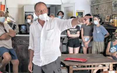 Intervista a Vincenzo Carpineta sulla Nuova Sardegna del 1 Luglio