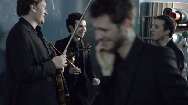 4 - en film om Quatuor Ebène