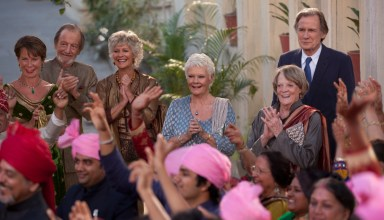 "20th Century Fox: (L-r) Celia Imrie, Ronald Pickup, Diana Hardcastle, Judi Dench, Maggie Smith and Bill Nighy star in ""The Second Best Exotic Marigold Hotel"""
