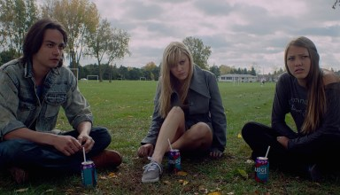 "Daniel Zovatto, Maika Monroe, and Lil Sepe star in Radius-TWC's ""It Follows"""
