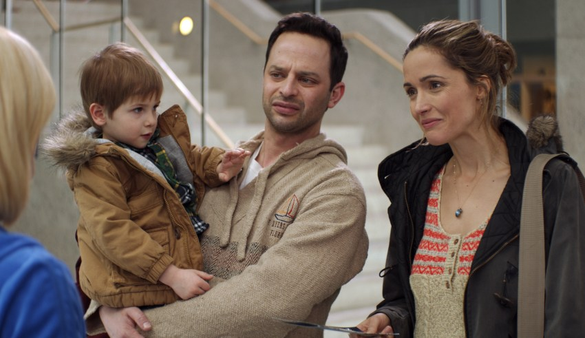 "Nick Kroll and Rose Byrne star in Radius-TWC's ""Adult Beginners"""