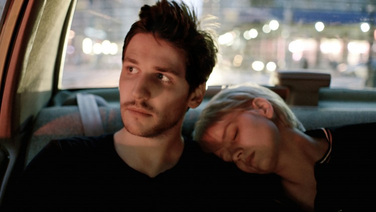 "Félix de Givry and Greta Gerwig star in ""Eden"""