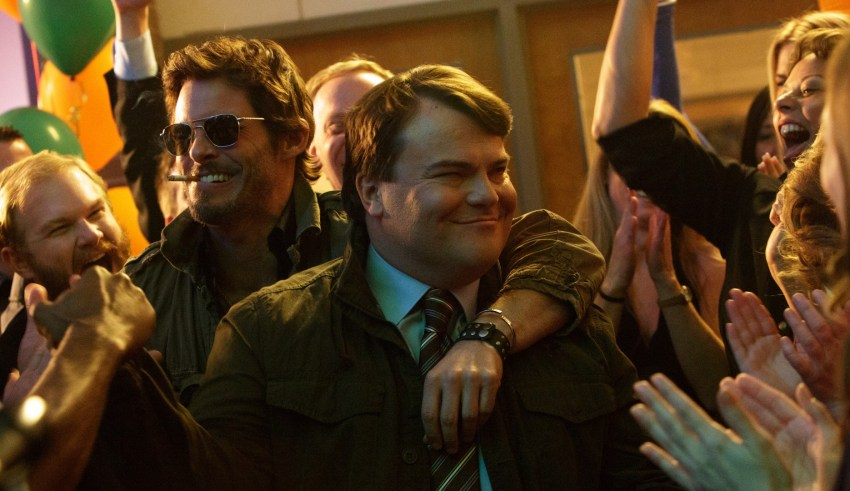 "James Marsden and Jack Black star in IFC Films' ""The D-Train"""
