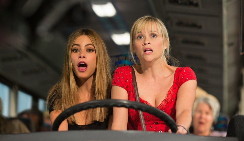 "Sofia Vergara and Reese Witherspoon star in Warner Bros. Pictures' ""Hot Pursuit"""