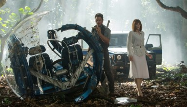 "Chris Pratt and Bryce Dallas Howard star in Universal Pictures' ""Jurassic World"""
