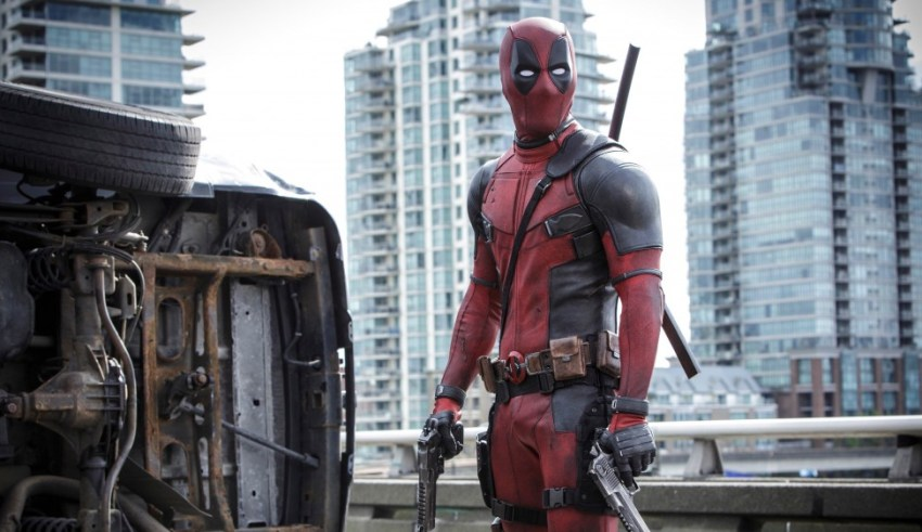 "Ryan Reynolds stars in 20th Century Fox's ""Deadpool"""