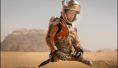 Matt Damon portrays the titular hero in 20th Century Fox's THE MARTIAN