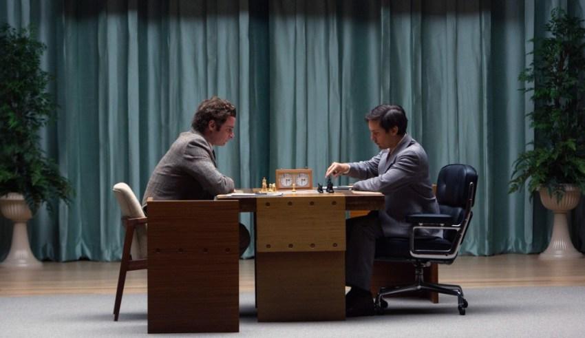 Liev Schreiber and Tobey Maguire star in Bleecker Street's PAWN SACRIFICE