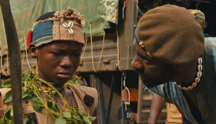 Abraham Attah and Idris Elba star in Netflix Originals' BEASTS OF NO NATION