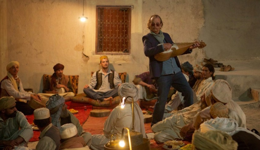 Bill Murray stars in Open Road Films' ROCK THE KASBAH