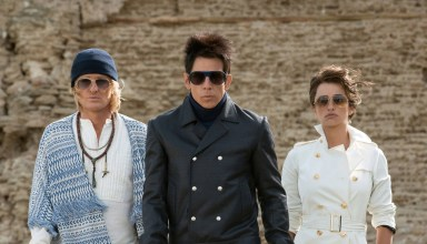 (L-r) Owen Wilson, Ben Stiller and Penelope Cruz star in Paramount's ZOOLANDER 2
