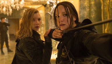 Natalie Dormer and Jennifer Lawrence star in Lionsgate's THE HUNGER GAMES: MOCKINGJAY - PART 2