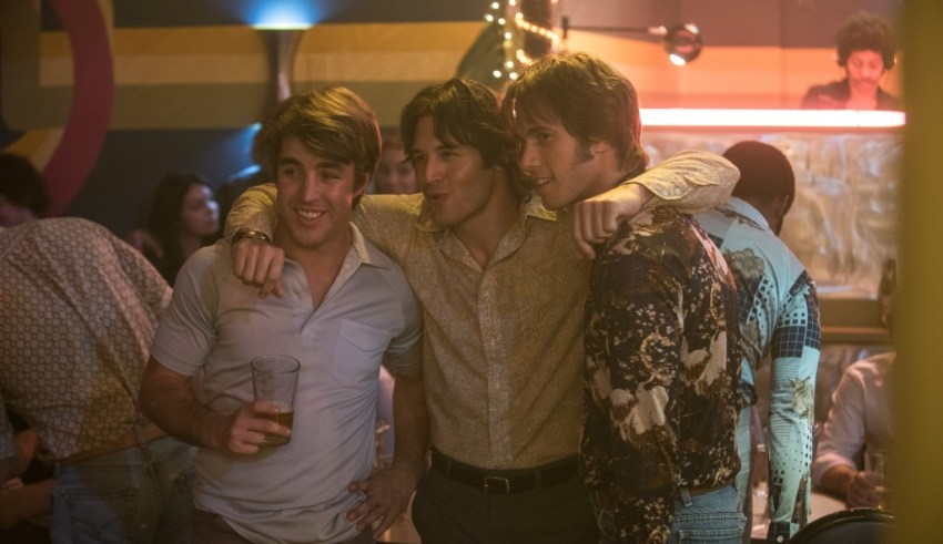Temple Baker, Ryan Guzman and Blake Jenner star in Paramount Pictures' EVERYBODY WANTS SOME!!