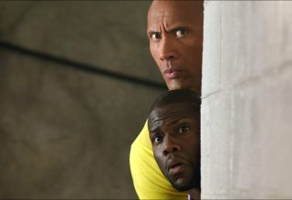 Dwayne Johnson and Kevin Hart star in Warner Bros. Pictures' CENTRAL INTELLIGENCE